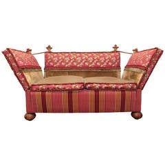 Large English Knole Settee