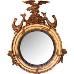 Regency Bull's-Eye Mirror