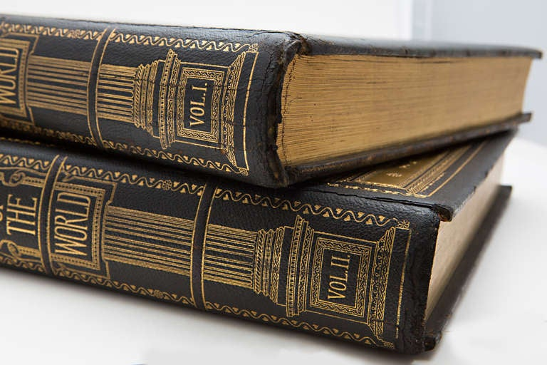 19th Century Art of the World Columbian Exposition Books, Two Volumes For Sale 5