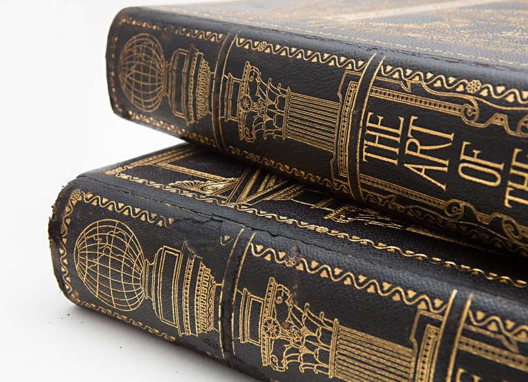 19th Century Art of the World Columbian Exposition Books, Two Volumes For Sale 4