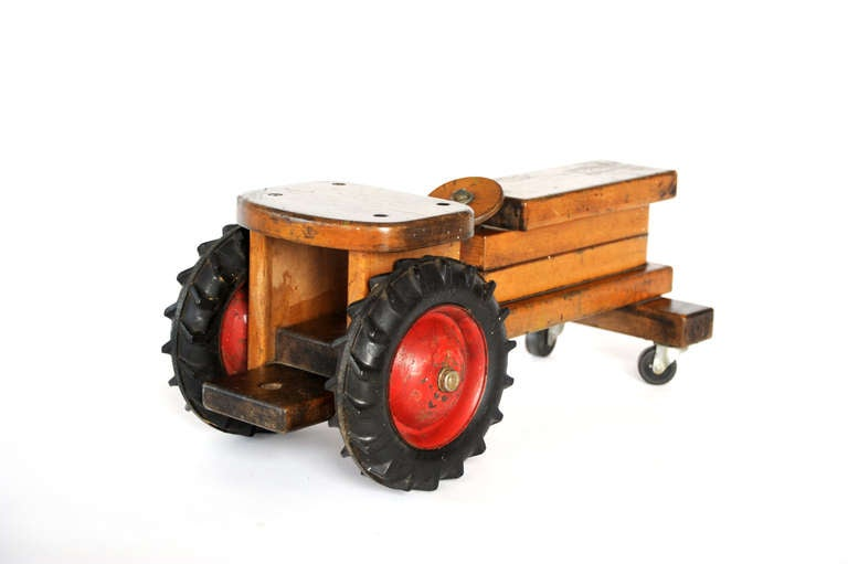 Quot Ride On Tractor Quot Toy At 1stdibs