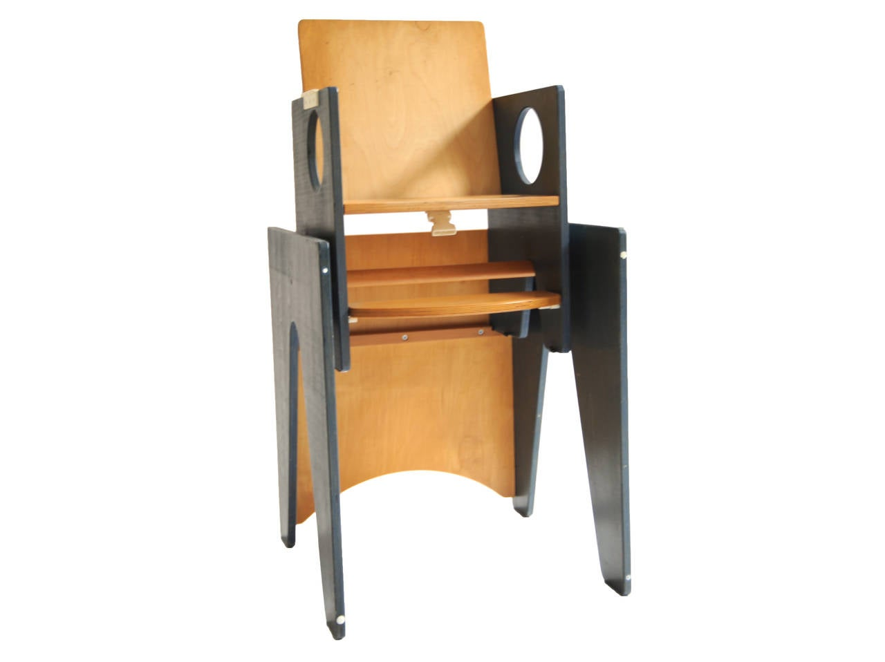 Multifunctional Desk and Chair Set or High Chair by Bopita, circa 1960 2