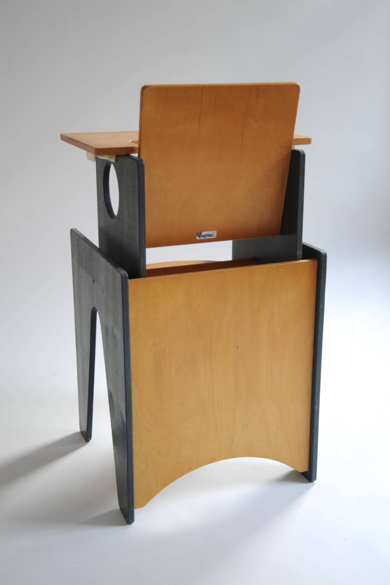 Multifunctional Desk and Chair Set or High Chair by Bopita, circa 1960 7