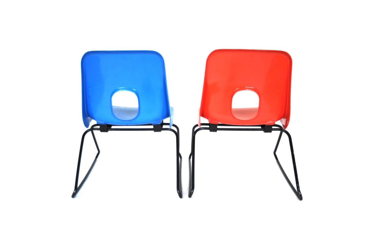 pair of child 39 s 41 chairs by robin day for sale at 1stdibs