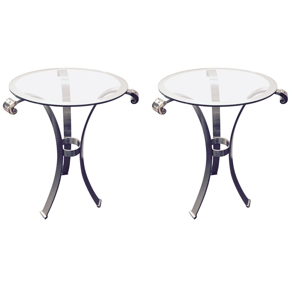 1990s gueridons or center tables by versace home for Table versace