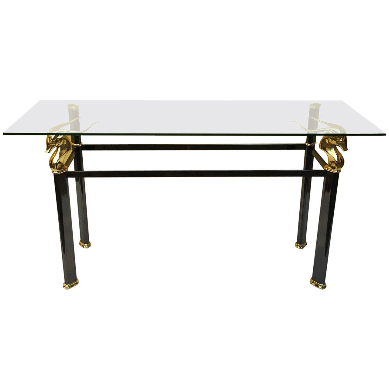 1990s console by versace collection at 1stdibs for Table versace