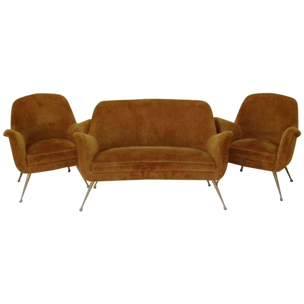 1950s amazing pair of small armchairs at 1stdibs