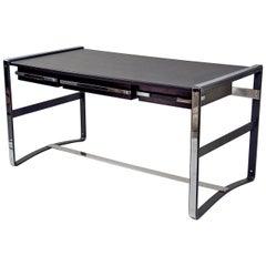 Desk by Jacques Adnet, France, 1950s