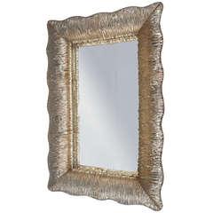 Mirror by Venini, Italy 'Murano,' 1950s