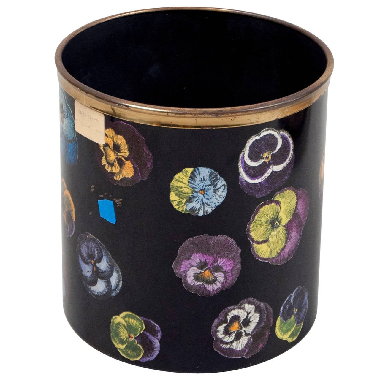 Waste Basket by Piero Fornasetti, Italy, 1950s For Sale