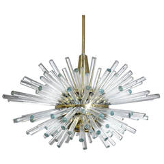 Ornate Industrial Mercury Glass Swing Arm Pulley Lamp At