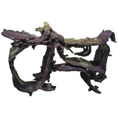 20th Century Natural Root Console