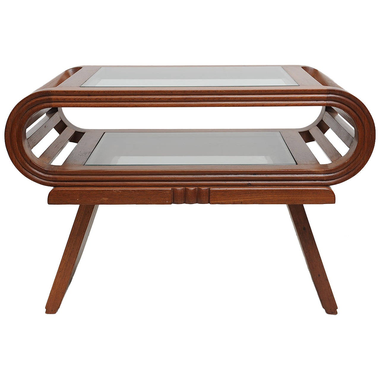 Deco Period Teak Coffee Table English At 1stdibs