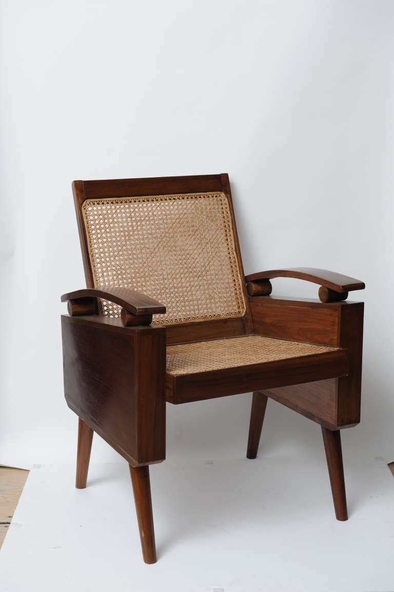 Mid-Century Suite of Three Teak Chairs and Loveseat in ...