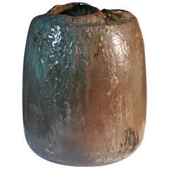 Massive Ceramic Vase by Jacques Barbier, 1982