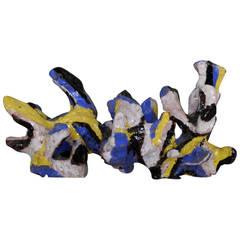 Ceramic Sculpture by Jean Megard, 1963