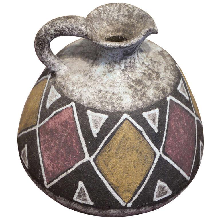 Ceramic by Accolay, France, circa 1960