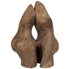 Biomorphic Ceramic Sculpture by Tim Orr