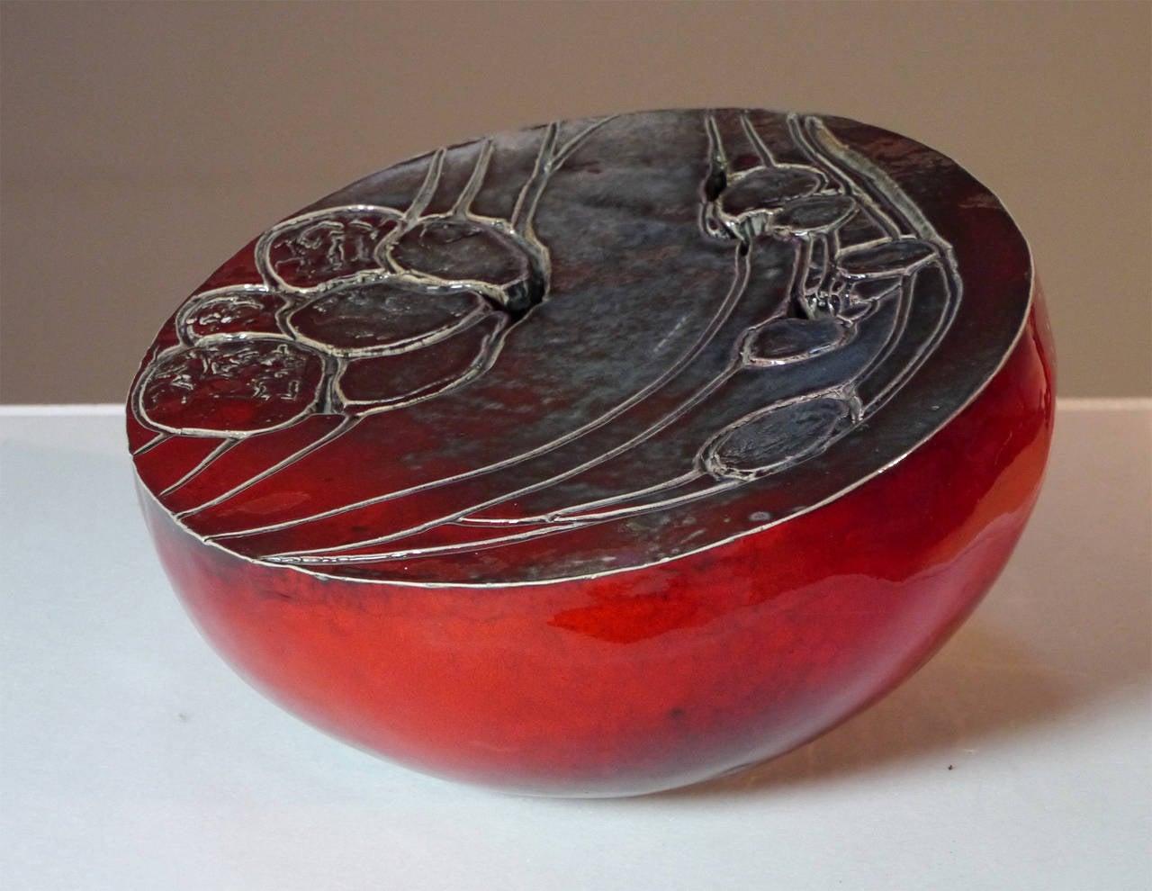 Ceramic Sculpture by Josette et Jacques Barbier, 1984 In Excellent Condition For Sale In Saint Ouen, FR