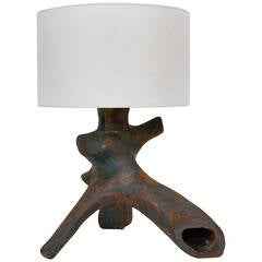 Spectacular Ceramic Lamp Base by Tim Orr