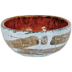 Ceramic Bowl Signed Andre Aleth Masson
