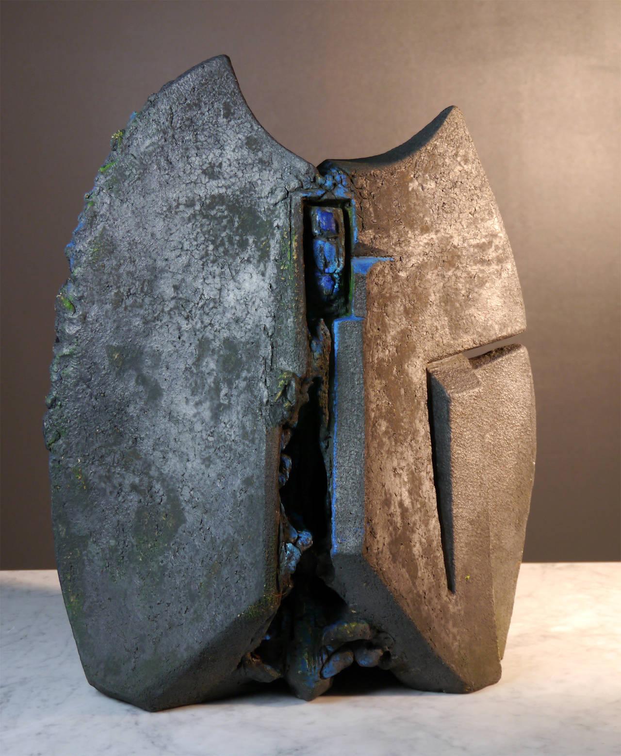 Stoneware Sculpture by Josette Barbier, 1990 4