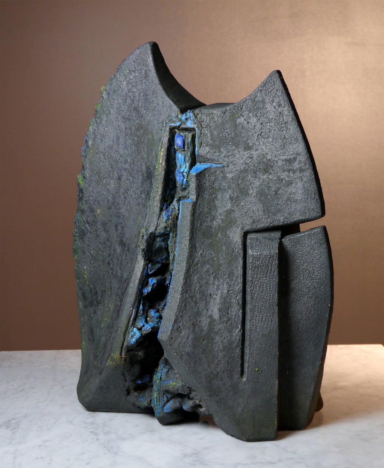 Stoneware Sculpture by Josette Barbier, 1990 2