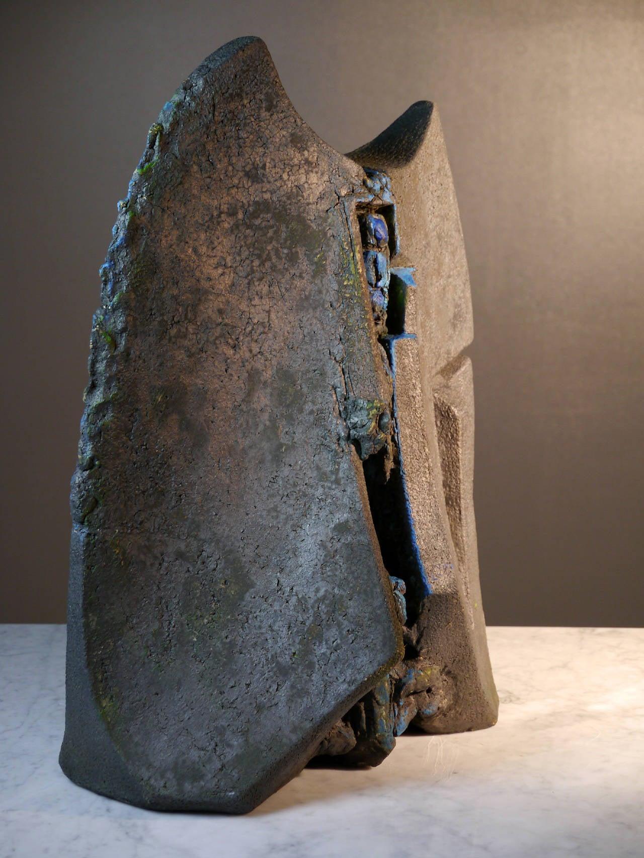 Stoneware Sculpture by Josette Barbier, 1990 5