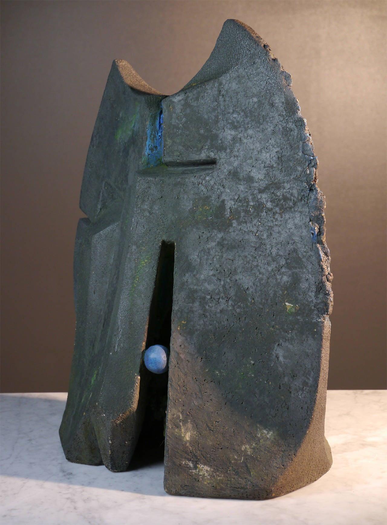 Stoneware Sculpture by Josette Barbier, 1990 6