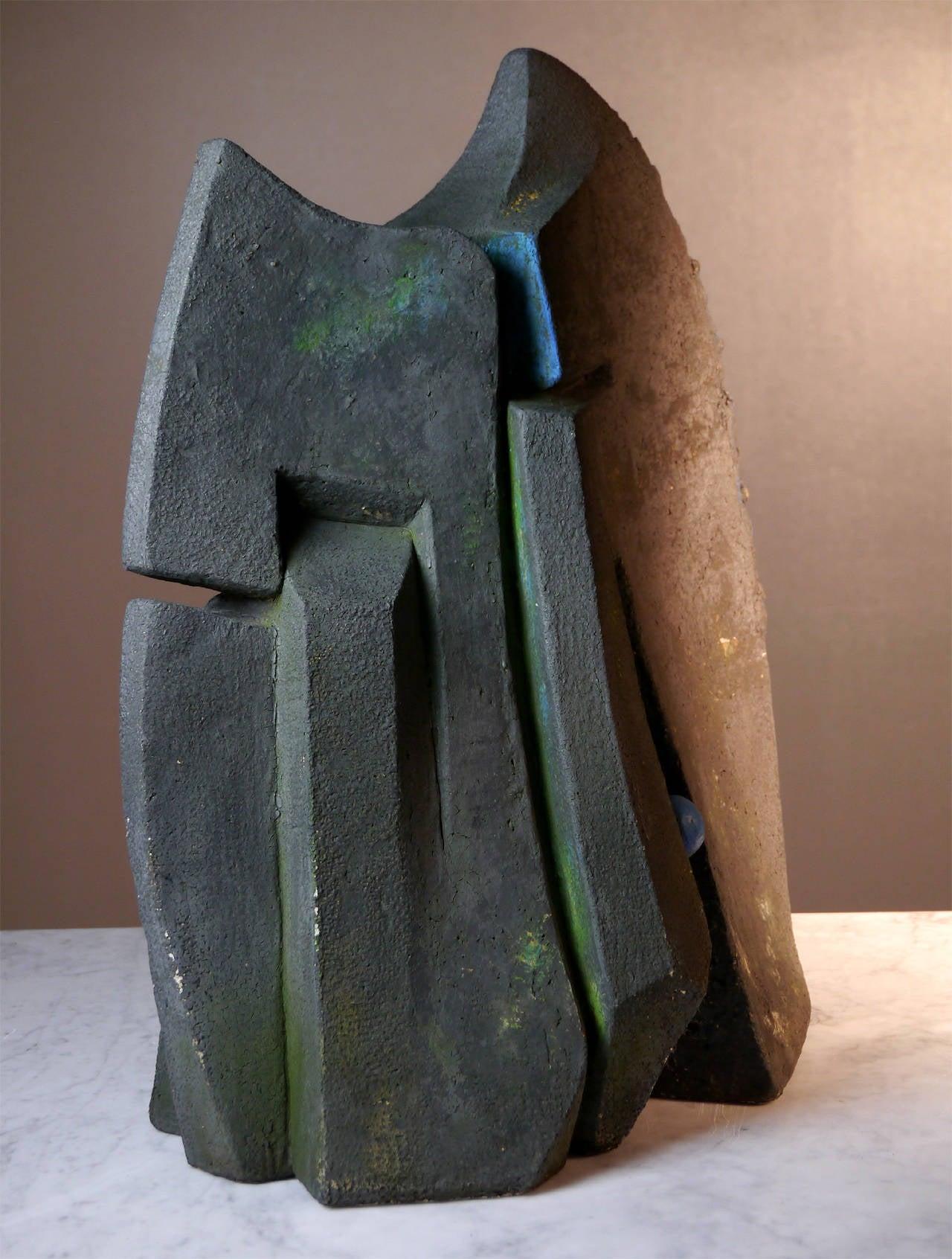 Stoneware Sculpture by Josette Barbier, 1990 7