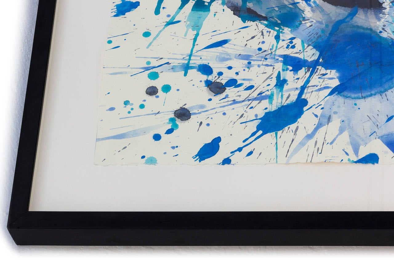 Modern J. Steven Manolis Abstract Gouache and Watercolor on Paper, 2007, USA For Sale