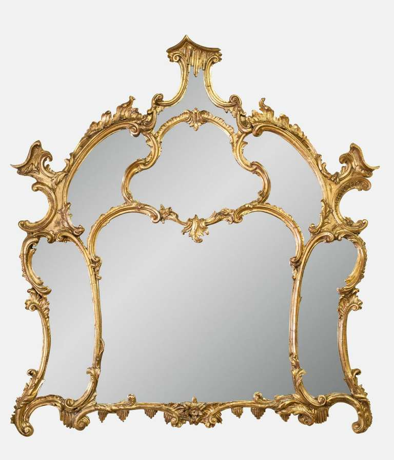 19th Century Chippendale Mirror 2