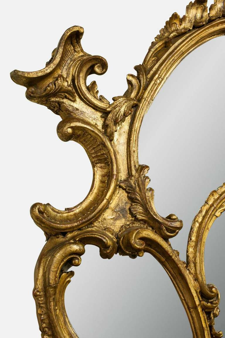 19th Century Chippendale Mirror 3