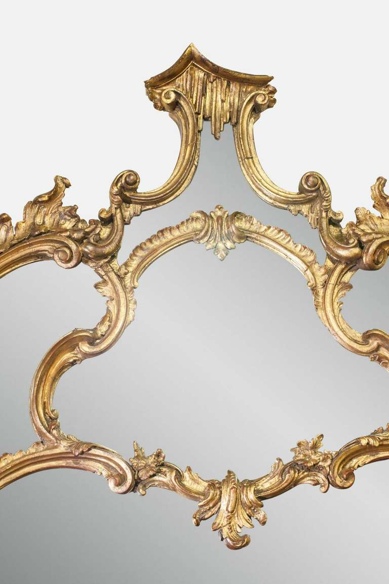 19th Century Chippendale Mirror 4
