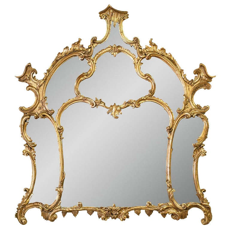 19th Century Chippendale Mirror 1