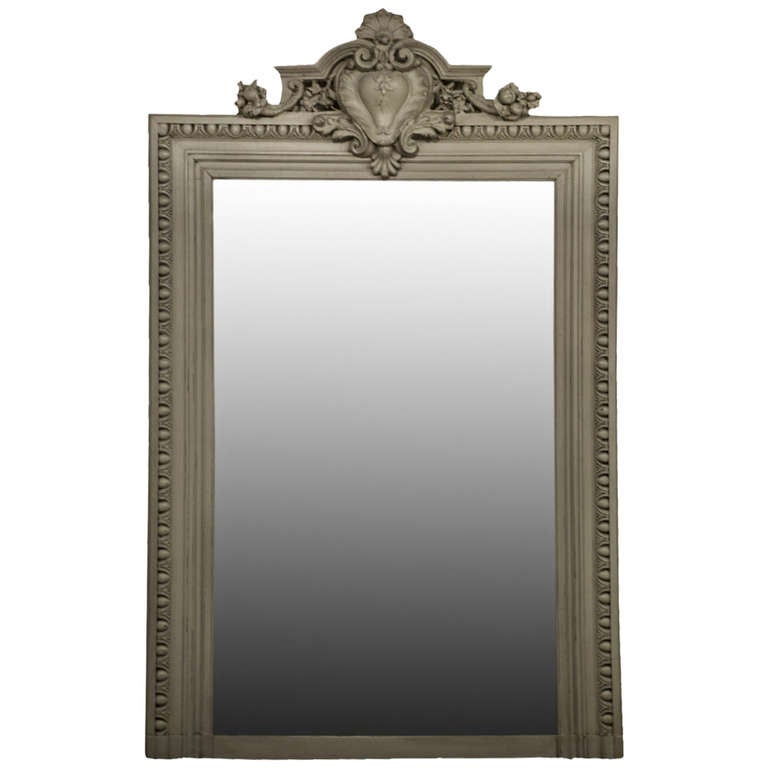 Large 19th century french mirror for sale at 1stdibs for Big mirrors for sale