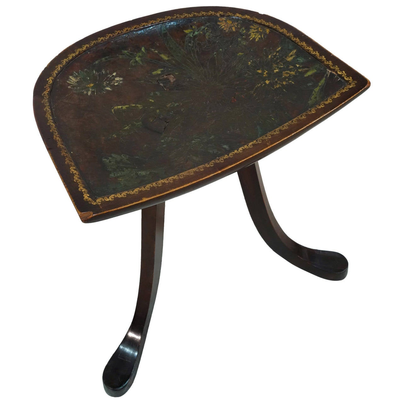 Thebes Stool Attributed to Leonard F Wyburd for Liberty  : 1864992l from www.1stdibs.com size 1280 x 1280 jpeg 102kB