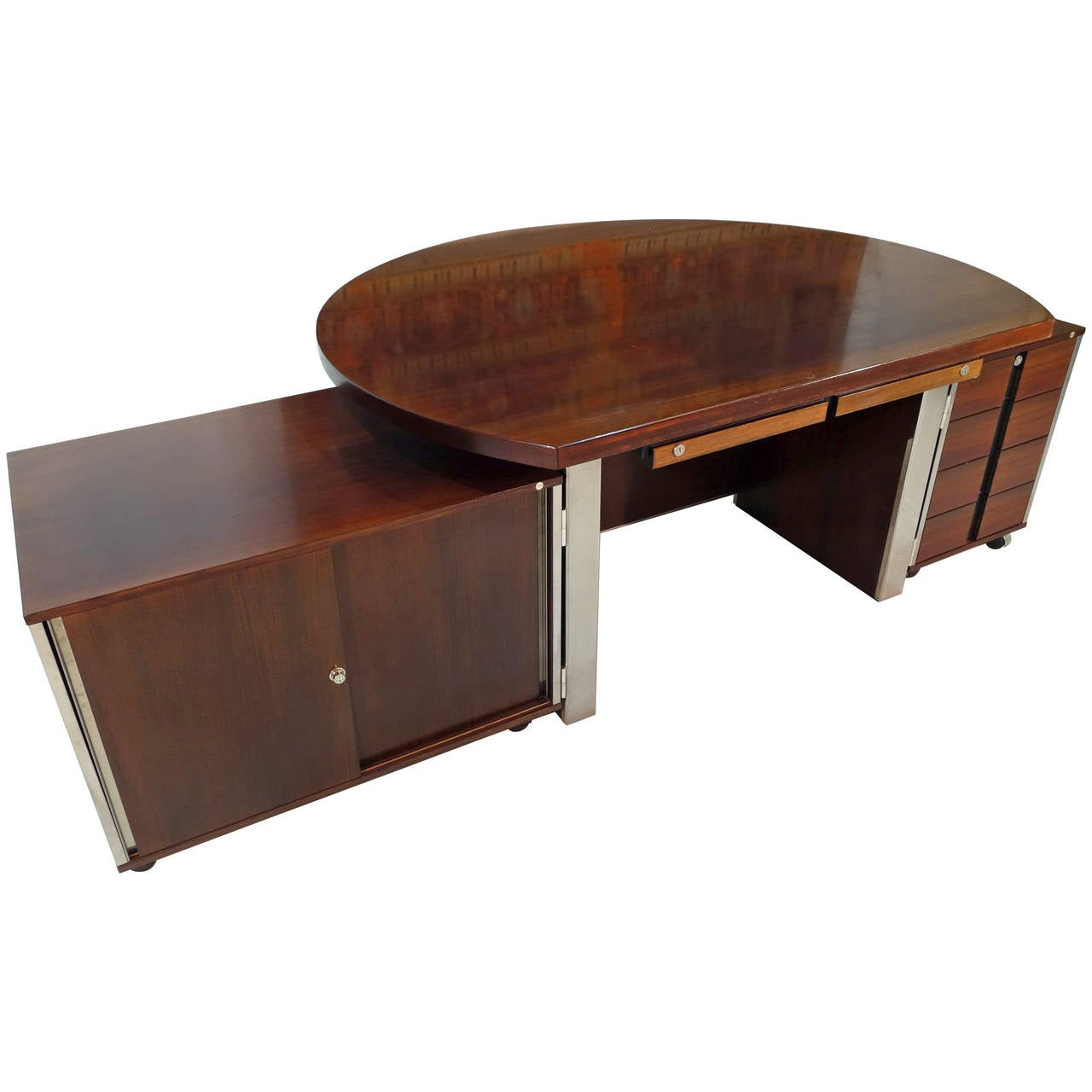 Large desk by mim at 1stdibs - Archives departementales 33 tables decennales ...