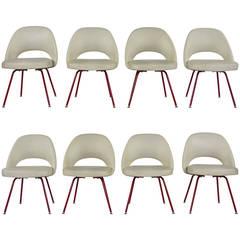 Eight Eero Saarinen Dining Chairs by Knoll