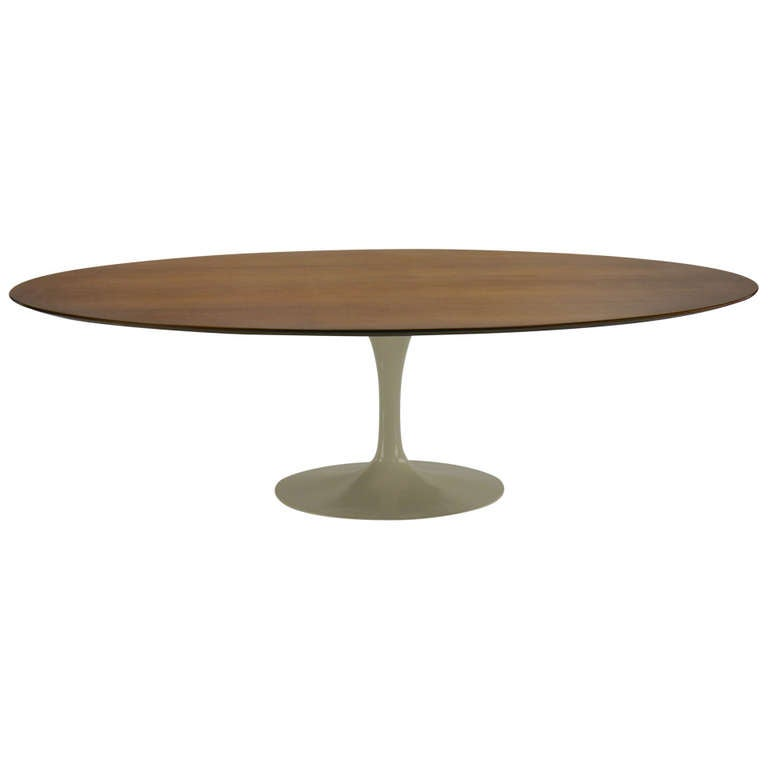 8 foot eero saarinen tulip dining table for knoll at 1stdibs for Tulip dining table