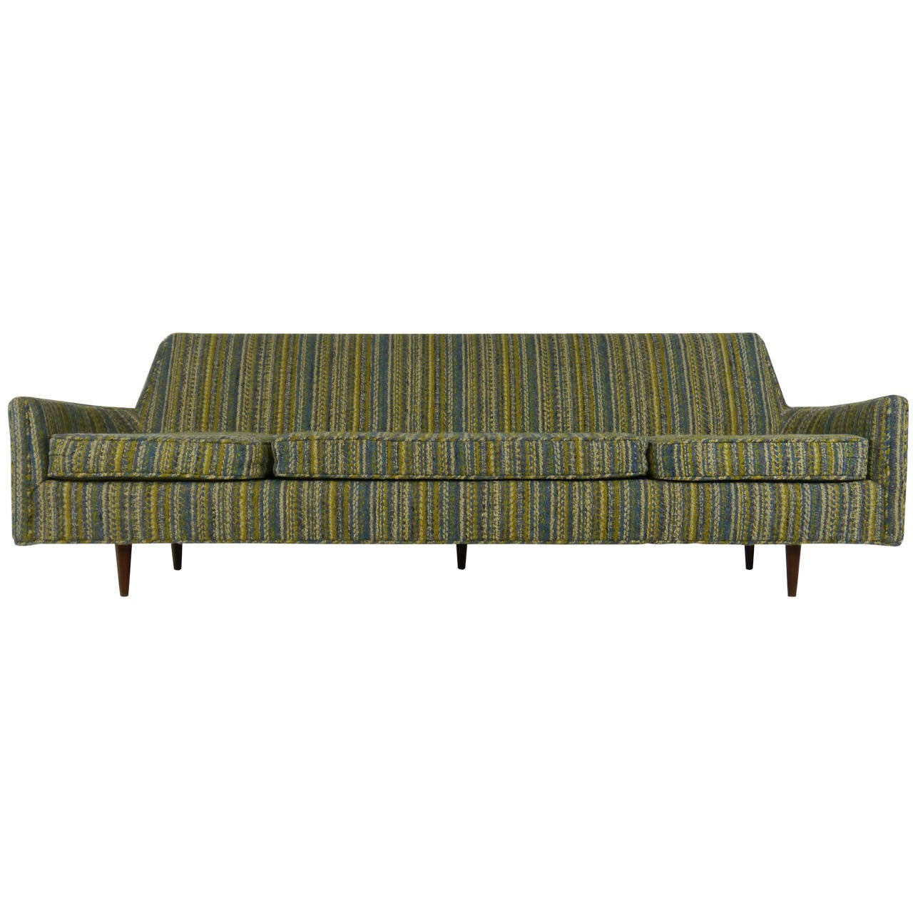 exceptional midcentury sofa by homer tremulis 1