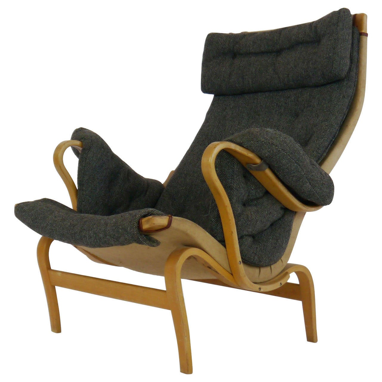 Pernilla Lounge Chair by Bruno Mathsson for Dux For Sale