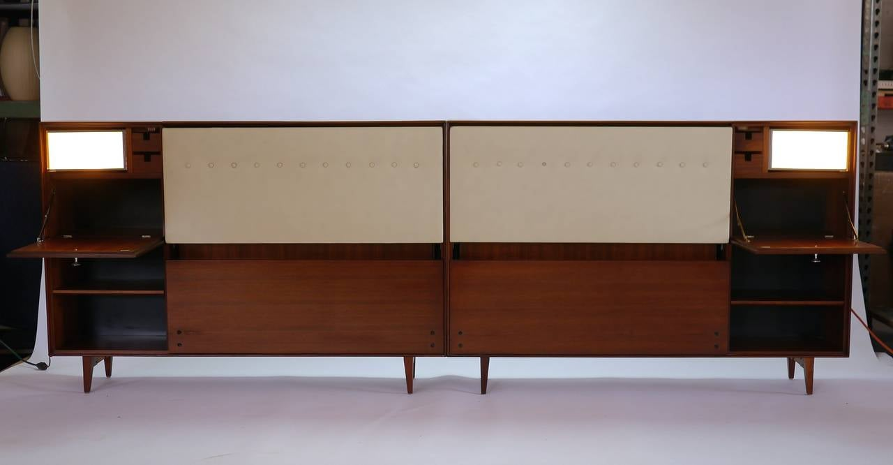 Thin Edge Headboard By George Nelson For Herman Miller At