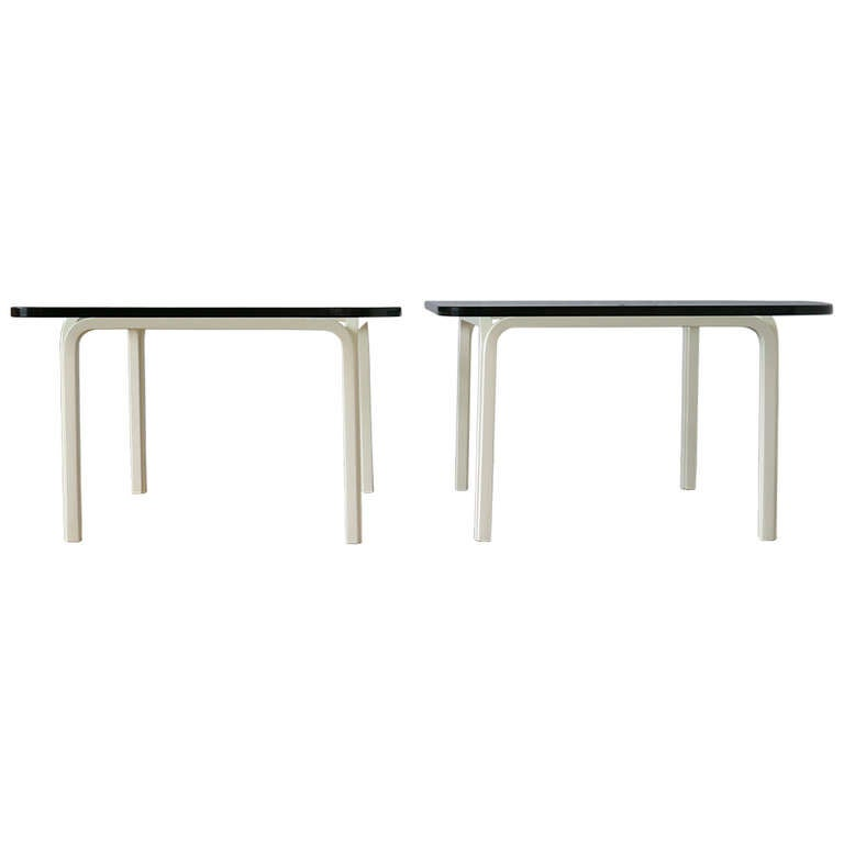Pair of Cocktail Tables by Alvar Aalto