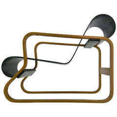 Vintage Paimio Lounge Chair by Alvar Aalto for Artek