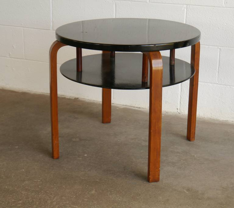 Early Alvar Aalto Tiered Table For Finmar 2