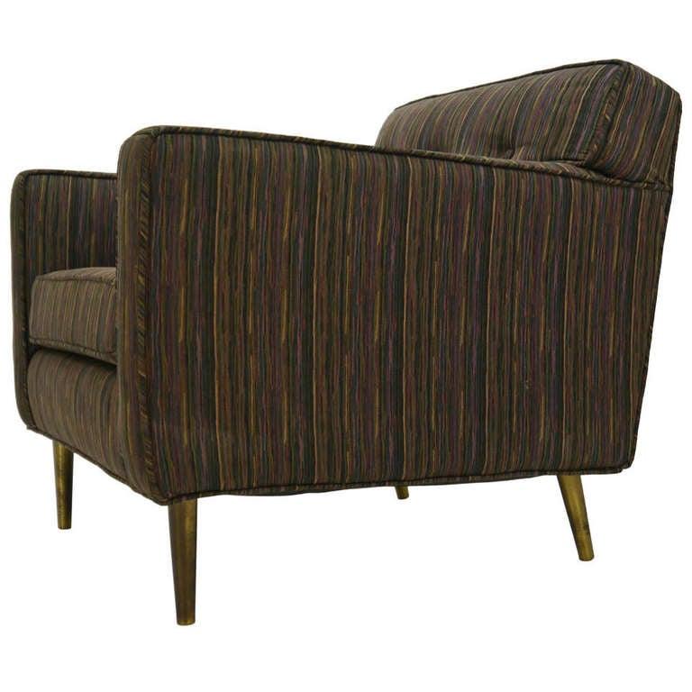 Dunbar brass leg lounge chair by edward wormley for sale at 1stdibs - Edward wormley chairs ...
