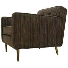 Dunbar Brass leg lounge chair by Edward Wormley