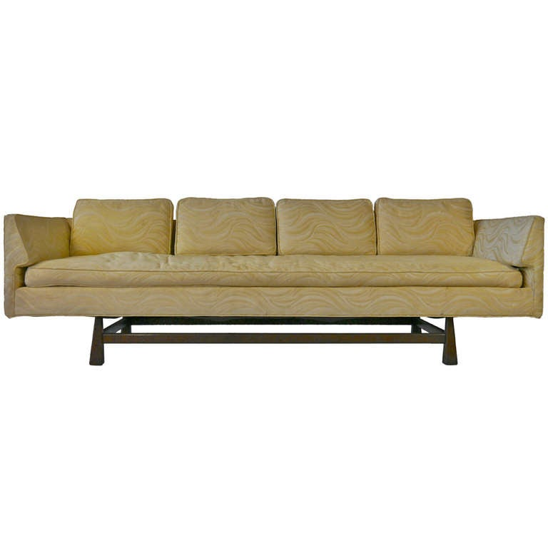 Mid Century Modern Sofa For Sale: Mid Century Modern Gondola Sofa For Sale At 1stdibs
