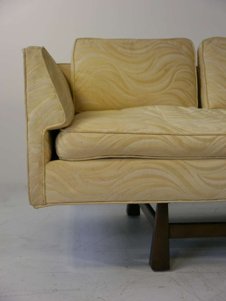 Mid Century Modern Gondola Sofa For Sale at 1stdibs
